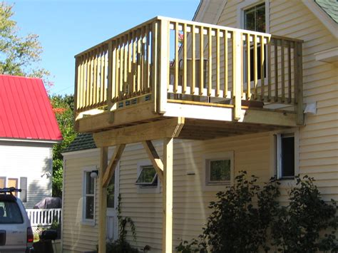 2nd floor balcony plans simple second story decks google search house ideas
