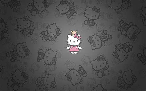 hello kitty wallpaper downloads 1366x768 hello kitty dark wallpaper