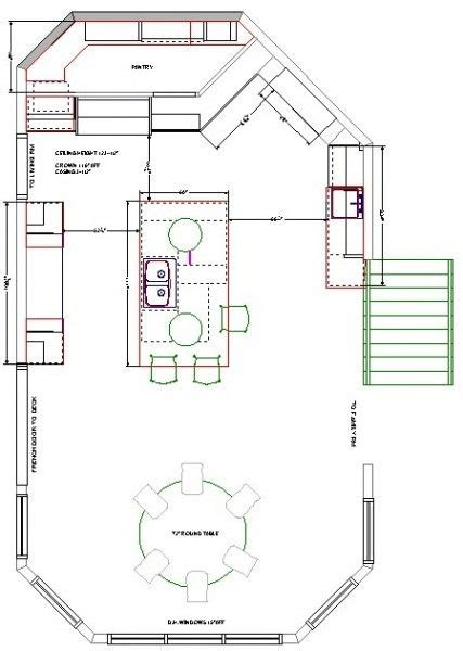 kitchen floor plans exles 1000 images about floor plans on pinterest the general