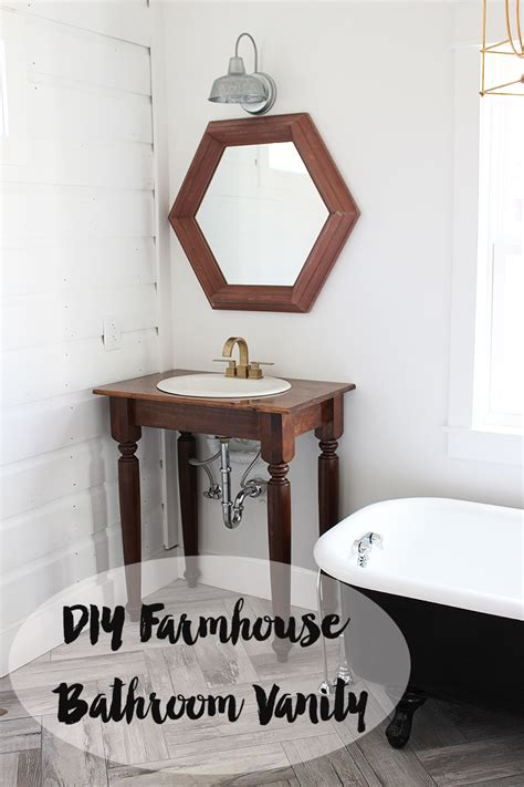 waits bathroom diy farmhouse bathroom vanities thewhitebuffalostylingco com