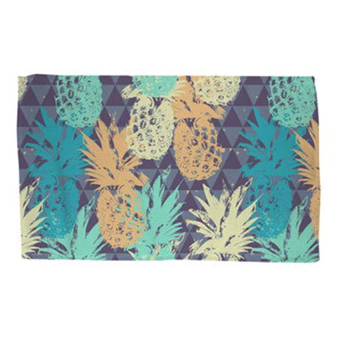 shop pineapple rug on wanelo