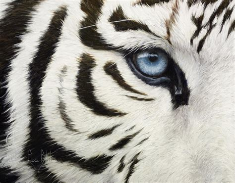 Animal Print Home Decor by Blue Eye Painting By Lucie Bilodeau