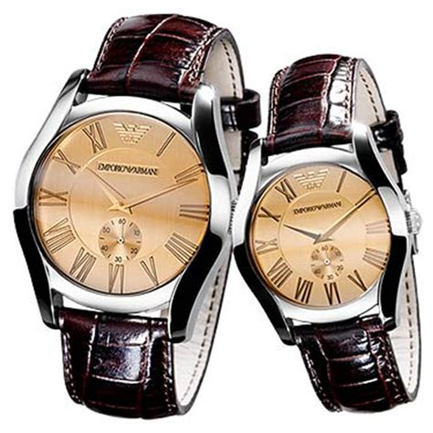 Emporio Armani His and Hers Classic Watches   AR0645 & AR0646