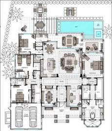 3 Story Floor Plans by Single Story 3 Bed With Master And En Suite Open Floor