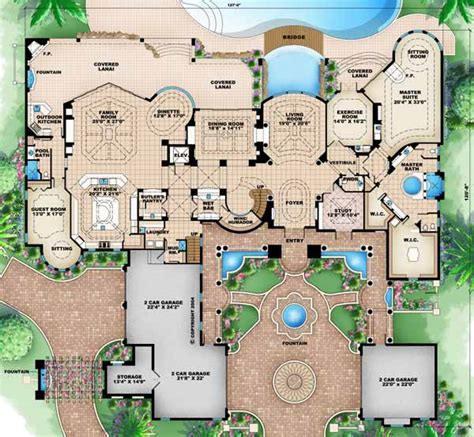 luxury house plans with pools luxury home plans with pools homes floor plans