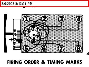 Ford 302 Firing Order by What Is The Firing Order For A 1974 Ford F100 With A 302