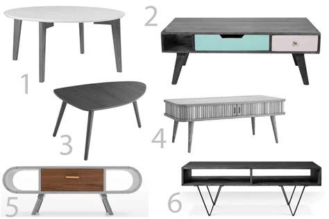 6 retro style coffee tables prettygreentea