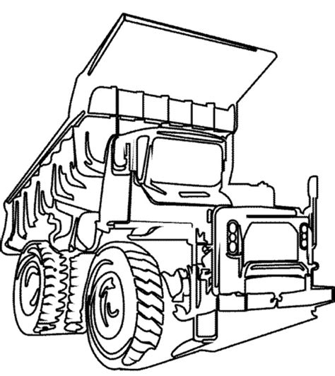 dump truck truck coloring pages cars coloring pages