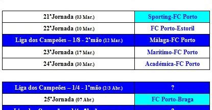 Calendario F C Porto Sou Portista Muito Orgulho Calend 193 Fc Porto 2013