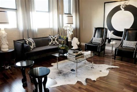 black living room decor black and white home decorating ideas 15 black and white