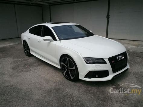 audi rs7 2013 4 0 in selangor automatic white for rm