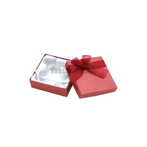Bow Gift Box gift box with bow 9x9x3cm coin city