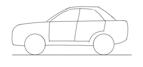 Car Drawing how to draw a car 4 door car side view junior car designer