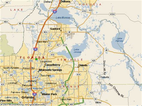 Seminole County Florida Search Usgs Water Resources Of The United States