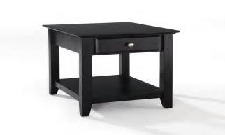 drawer end table end table black ikea black end tables with drawer