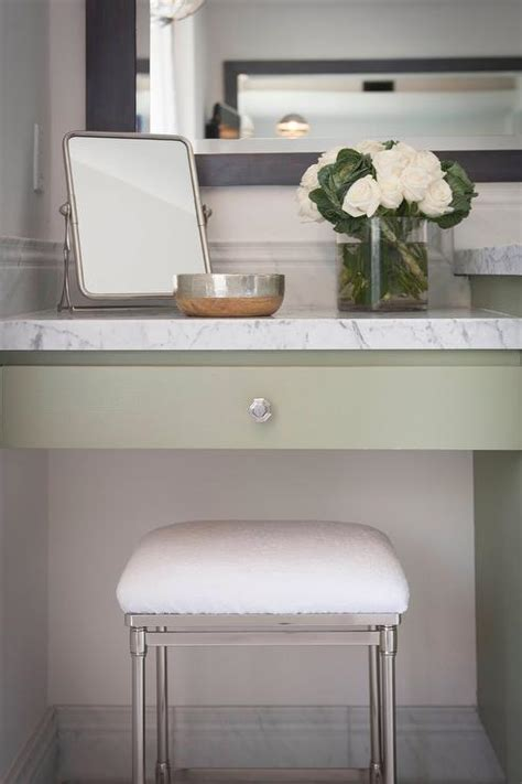 bathroom makeup chair white bath vanity with arched mirror and white terry cloth