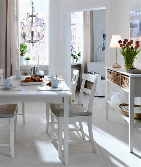 ikea dining room table ikea 2010 dining room and kitchen designs ideas and