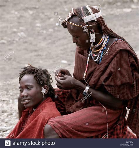 maasai hair styles tanzania northern tanzania kerimasi maasai warriors