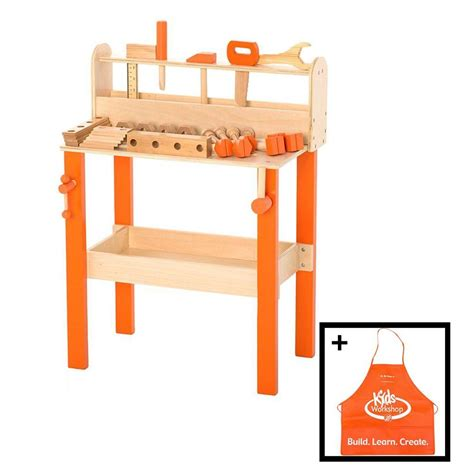 childrens work bench the home depot kids toy work bench wb 02028 the home depot