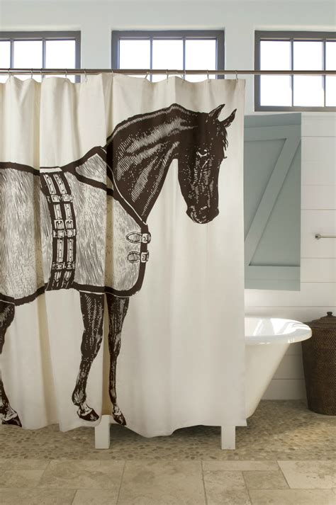 horse show curtains top 20 shower curtains decoholic