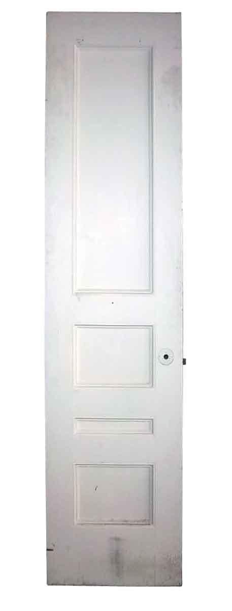 narrow closet doors narrow antique four panel closet door olde things
