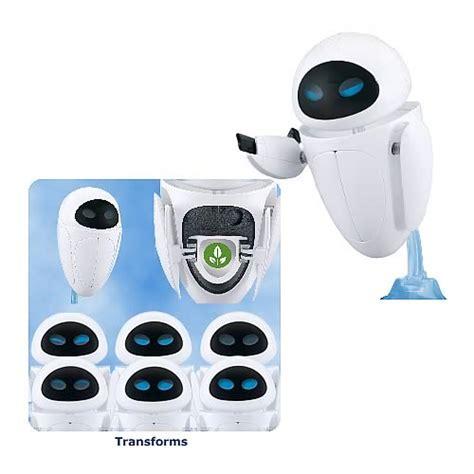 film robot eve wall e transforming eve robot thinkway toys wall e
