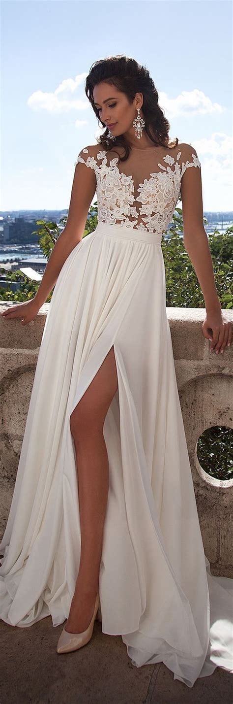 Wedding Dresses Summer by Best 25 Chiffon Wedding Dresses Ideas Only On