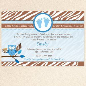 Cing Baby Shower Cfire Invitation Template Free