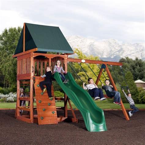 backyard sets acadia play set