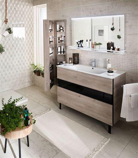 Salle De Bain Lapeyre by Meuble Salle Bain Bois Design Ikea Lapeyre C 244 T 233 Maison
