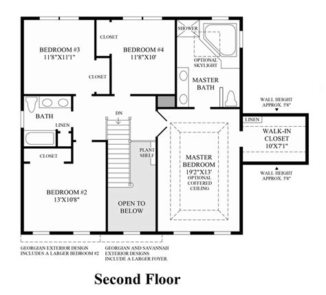 nantucket floor plan the at lagrange the nantucket home design