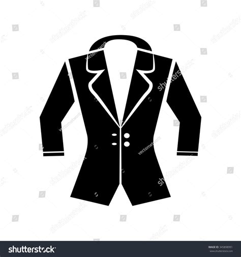 desain vektor jaket jacket icon vector art eps image stock vector 345898991