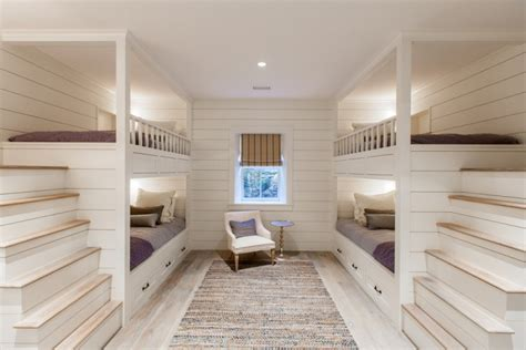 built in wall bunk beds 20 bunk bed designs ideas design trends premium psd