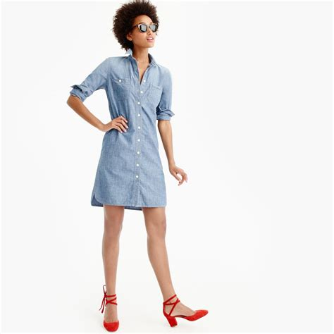 Classic Shirt Dress a shirtdress from j crew 70 is as classic as it gets
