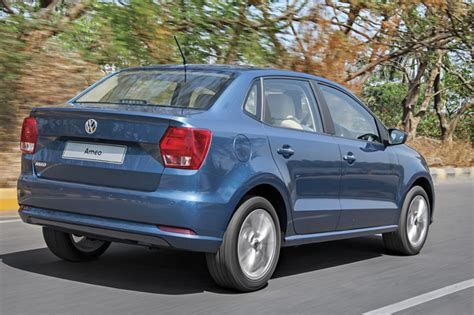 volkswagen new car ameo volkswagen ameo first look review autocar india