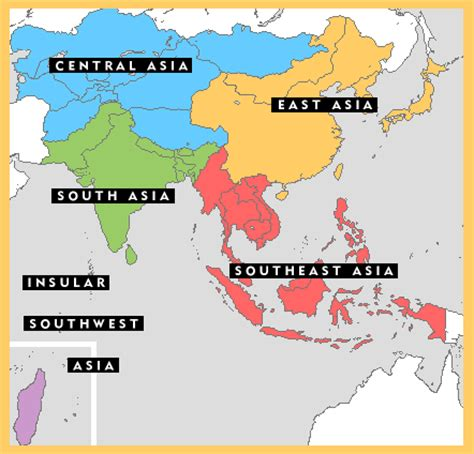 south asia and southeast asia map regions iias newsletter