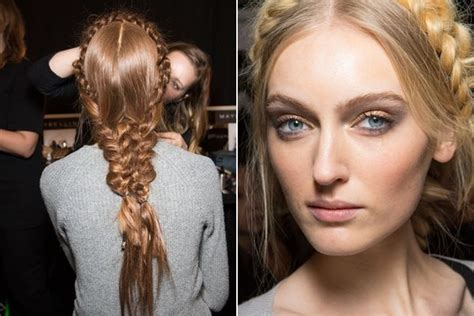 the latest hair trends in new york 2015 15 hair makeup looks we love from new york fashion week