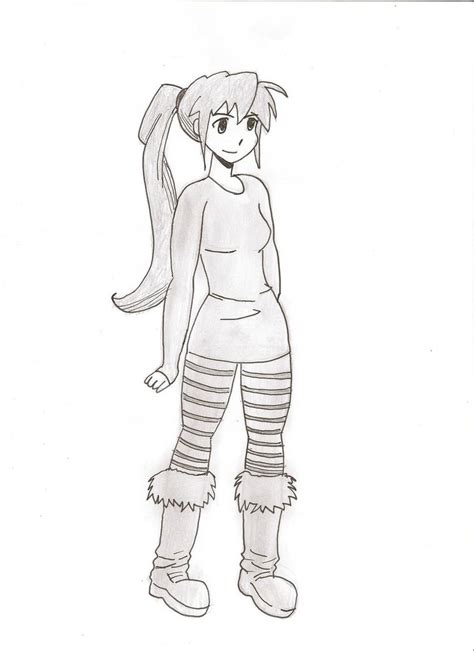 Drawing Of A Standing Up by Standing By Whiteknightx5 On Deviantart