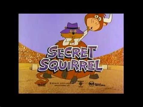 secret intro secret squirrel theme intro opening 1965 hq