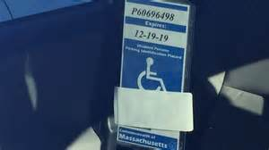 i team drivers illegally using handicap parking