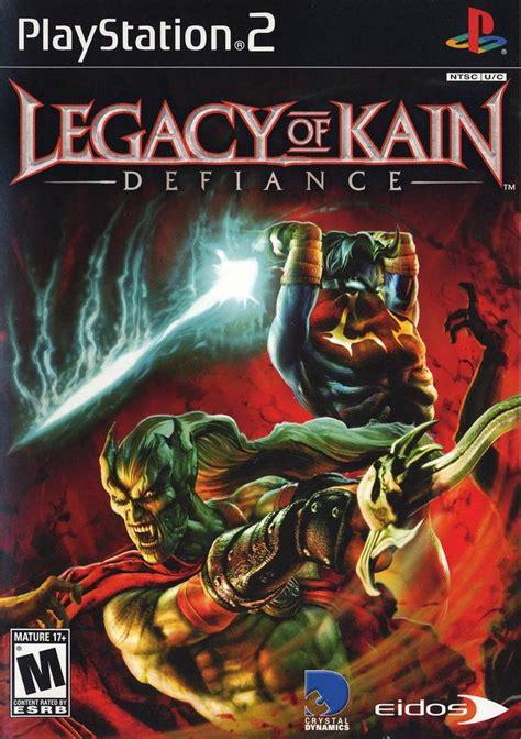 Kain Jaguard legacy of kain defiance sony playstation 2