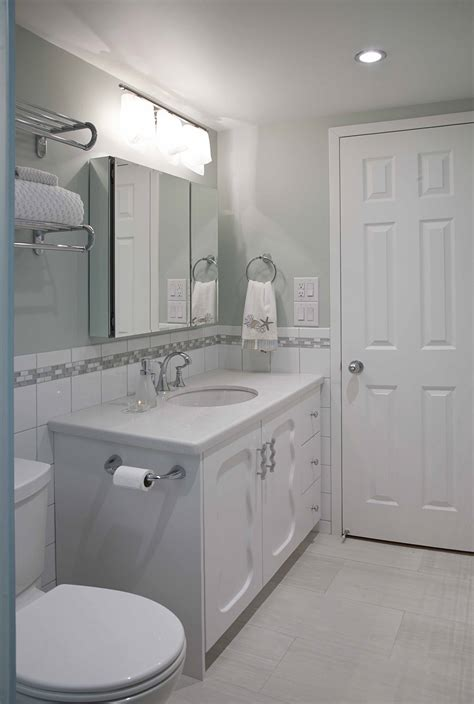 Narrow Bathroom Makeovers Bathroom Design And Renovation A Designer S Tale