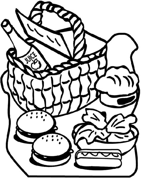 crayola large coloring pages picnic crayola co uk