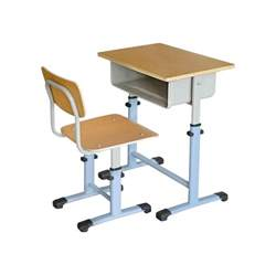 primary school assemble child study table and chair