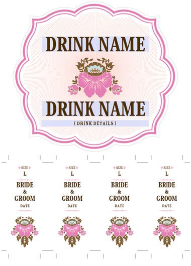 Tana S Blog Wedding Favors Are Our Specialty And If You Are Using A Blue And Brown Color Soda Labels Template