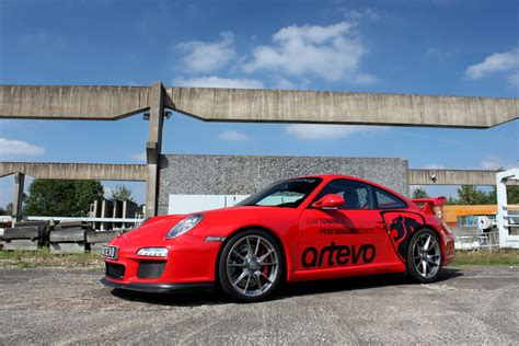 Porsche 997 Chiptuning by Angefahren Porsche 911 Gt3 Typ 997 Tuned By Artevo