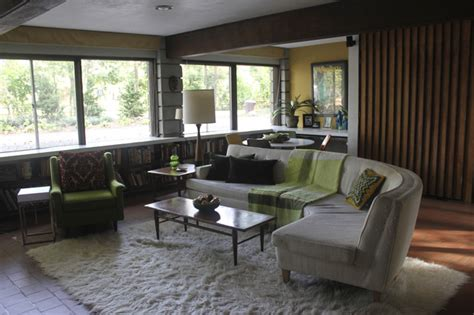 mid century modern family room den in our 1958 irwin stein mid century modern home modern family room philadelphia by