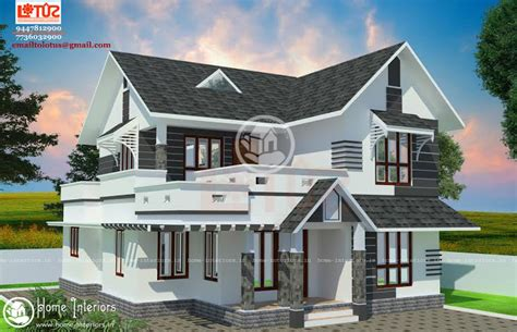 www home designing com 1500 sq ft modern style home design
