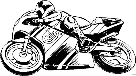 Motorrad Comics Bilder Kostenlos by Motorradfahrer In Der Kurve Ausmalbild Malvorlage Comics