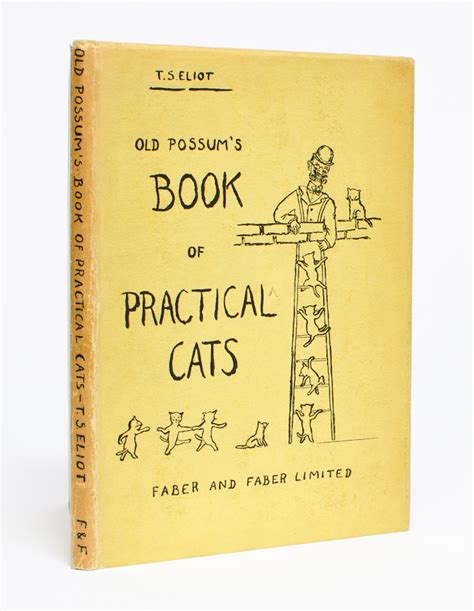 Possum S Book Of Practical Cats the waste land t s eliot stearns edition